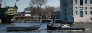 Sleepdienst bootservice Amsterdam